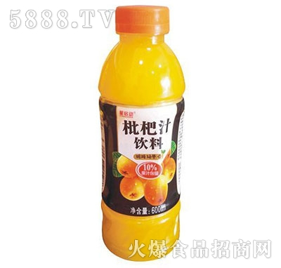 枇杷汁饮料600毫升产品图