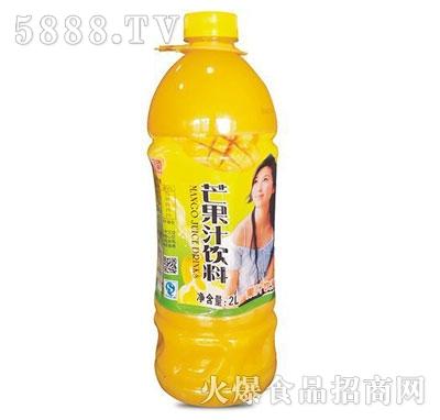芒果汁饮料2L产品图