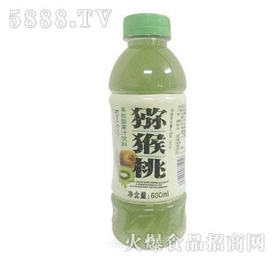 猕猴桃果粒型果汁饮料600ml产品图