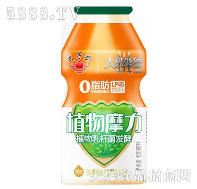 太子奶植物摩力乳酸菌发酵饮品