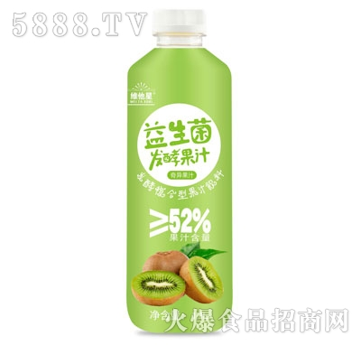 维他星益生菌发酵奇异果汁1.1L