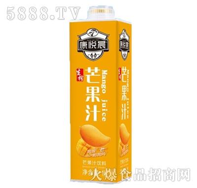 康悦晨芒果汁饮料1L装