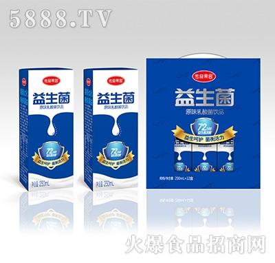 传奇果园益生菌原味乳酸菌250mlx12盒