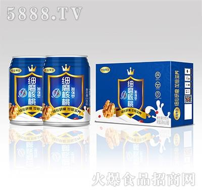 传奇果园细磨核桃加强型复合蛋白饮料240mlx16罐产品图