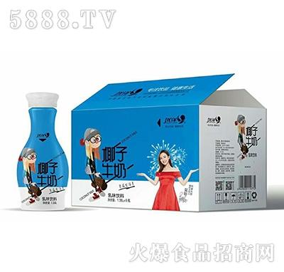 优洋椰子牛奶1.38Lx6瓶产品图