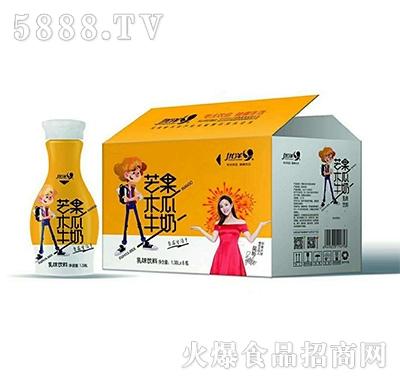 优洋芒果木瓜牛奶1.38Lx6瓶产品图