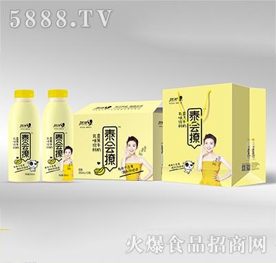 优洋泰会撩乳味香蕉牛奶350mlx12瓶产品图