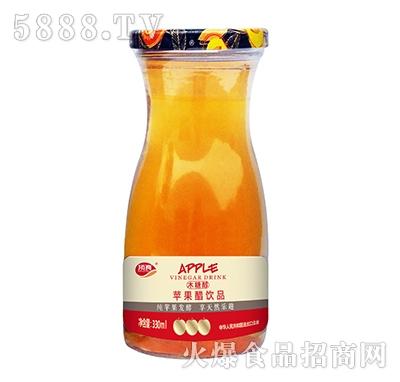 顶真木糖醇苹果醋饮品330ml瓶装