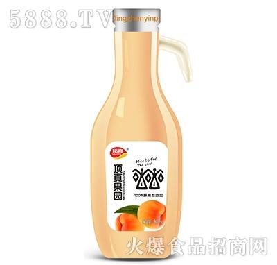顶真果园原浆果汁橙汁饮品900ml瓶装