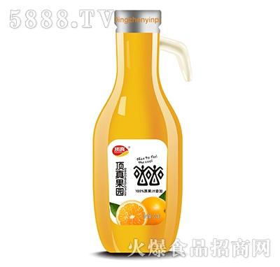 顶真果园原浆果汁桃汁饮品1.28L瓶装