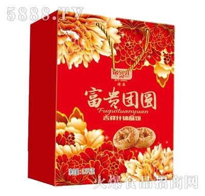 银贝儿富贵团圆什锦酥饼1.25千克