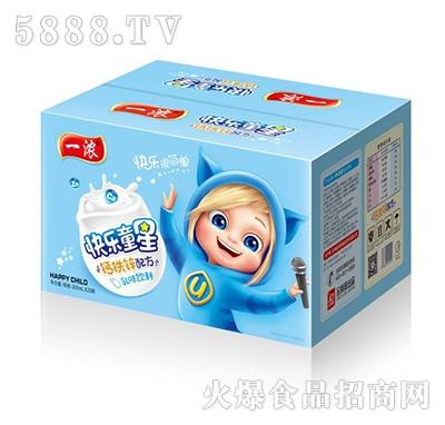 一浓快乐童星乳味饮品200mlx20瓶