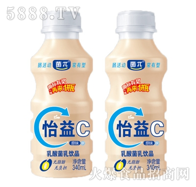 菌π怡益C原味乳酸菌饮品340ml