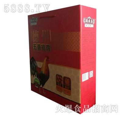 德盛斋德州五香扒鸡(盒)产品图