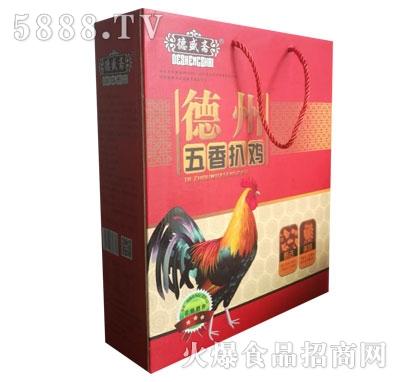 德盛斋德州五香扒鸡(盒装)