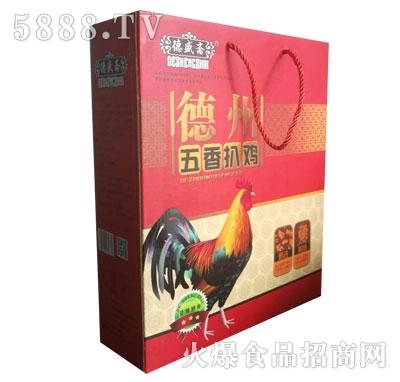 德盛斋德州五香扒鸡产品图