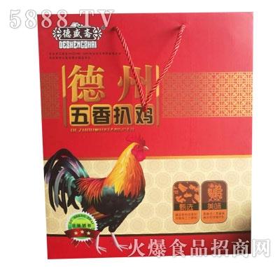 德盛斋德州五香扒鸡(礼盒)产品图