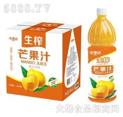 乐事达生榨芒果汁1.5LX6