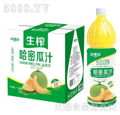乐事达生榨哈密瓜汁1.5LX6