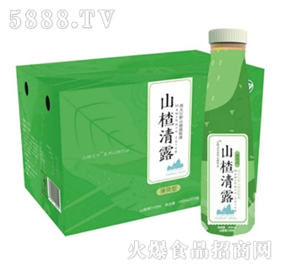 山楂清露薄荷型450mlx15瓶