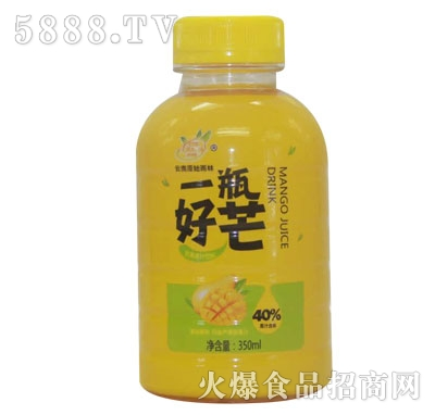 原始雨林一瓶好芒芒果汁饮料350ml