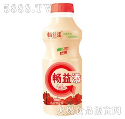 畅益添乳酸菌饮品草莓味1.5L产品图