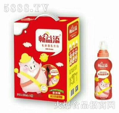 畅益添乳酸菌饮品(礼盒)产品图