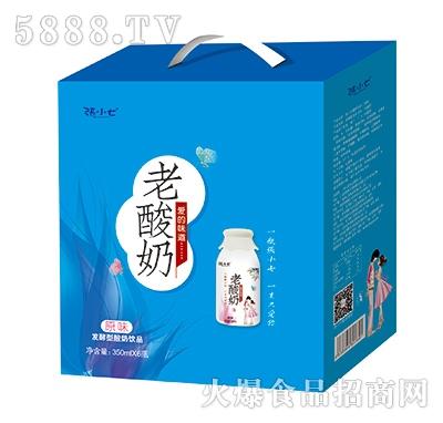 张小七发酵型老酸奶饮品330mlx6