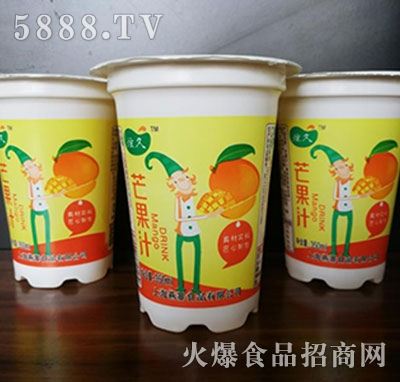 炫久芒果汁350ml