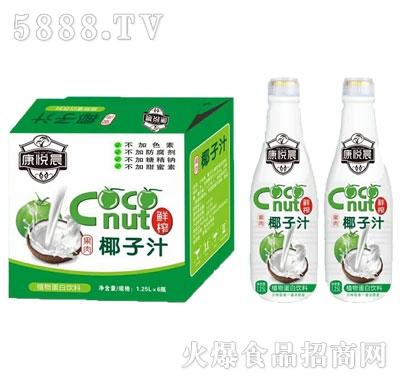 康悦晨生榨椰子汁饮料1.25Lx6瓶产品图