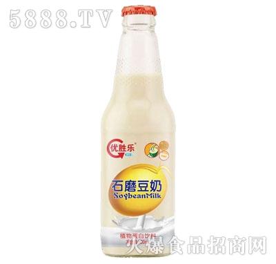 优胜乐石磨豆奶330ml产品图