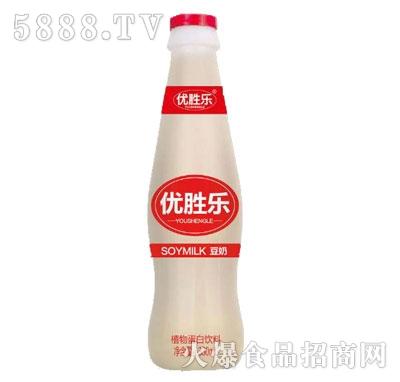 优胜乐豆奶植物蛋白饮料330ml产品图