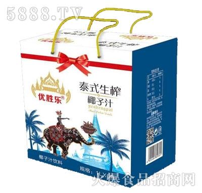 优胜乐泰式生榨椰子汁1LX6