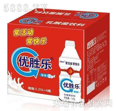 优胜乐乳酸菌饮料1.25LX6