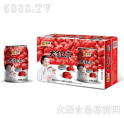 桃源农庄大红枣乳味饮品
