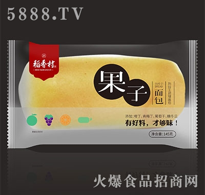 稻香村果子面包145g