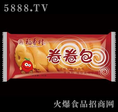 稻香村卷卷包果酱面包红枣味90g