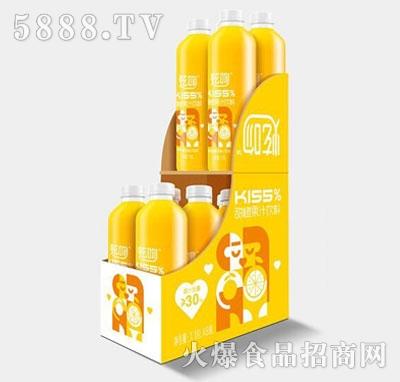 炫吻kiss%甜橙果汁饮料1.18Lx8
