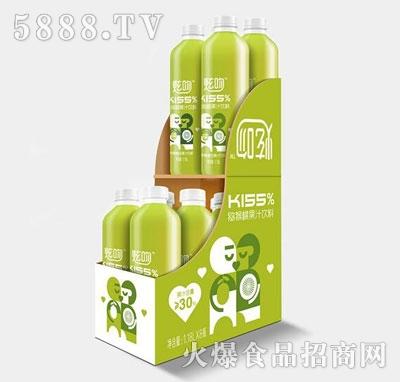 炫吻kiss%猕猴桃果汁饮料1.18Lx8