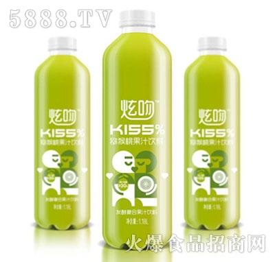 炫吻kiss%猕猴桃果汁饮料1.18L