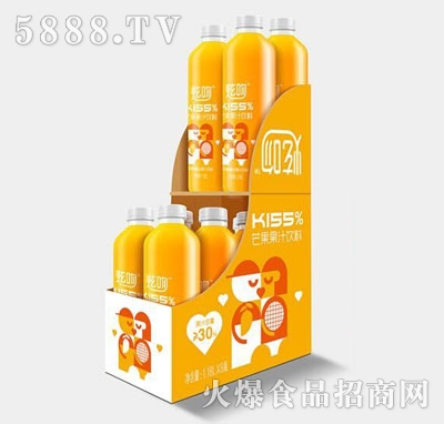 炫吻kiss%芒果汁饮料1.18Lx8
