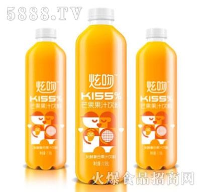 炫吻kiss%芒果汁饮料1.18L