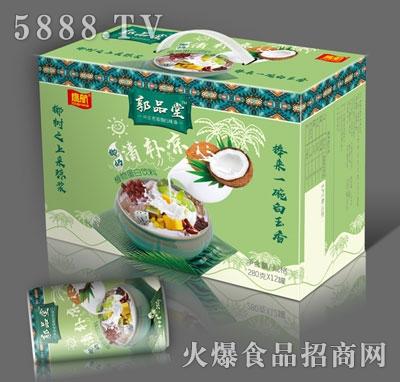 鹰航郭品堂椰奶植物蛋白饮料280gx12罐