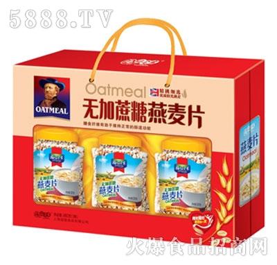 福临全家无加蔗糖燕麦片960克(3瓶)