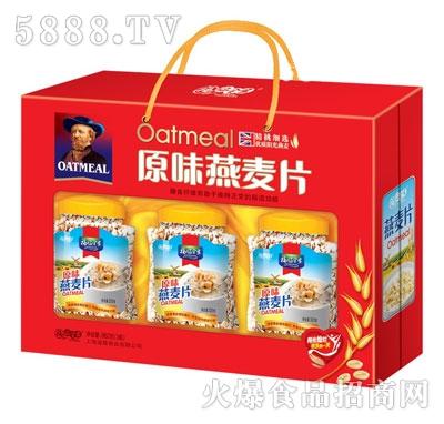 福临全家原味燕麦片960克(3瓶)