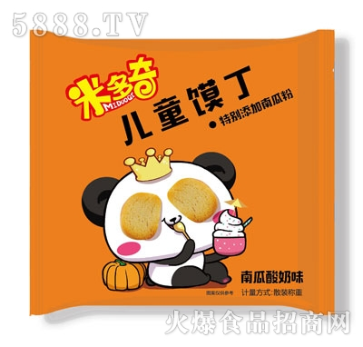 米多奇南瓜酸奶味儿童馍片