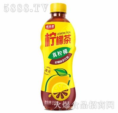 优品营港式柠檬茶饮料550ml