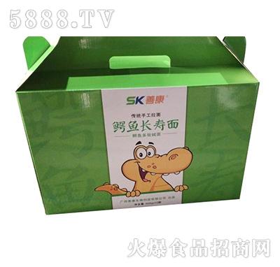 善康鳄鱼长寿面500gx10袋产品图