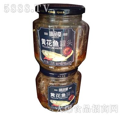 味品堂黄花鱼罐头170克产品图