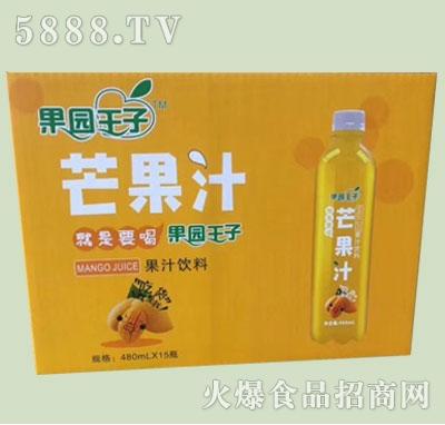 果园王子芒果汁果汁饮料480mlx15瓶